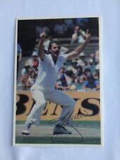 Scanlens Dennis Lillee Cricket Trading Cards