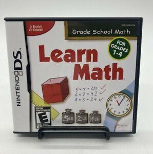 Nintendo DS Learn Math: Grade School Math 2009