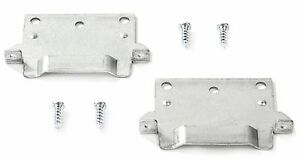 IKEA mounting plate brackets Hemnes Malm Brusali Bed with screws DIY