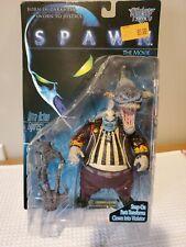 "Spawn The Movie, Clown / Violator Ultra-Action Figure 7"" McFarlane Toys 1997 Moc"
