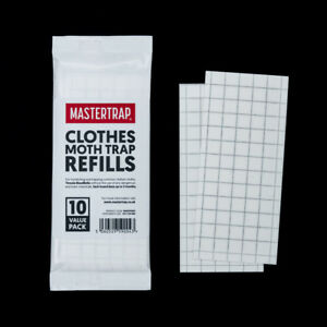 Moth Trap Pheromone Refill Glue Pads for Clothes Moths and Pantry Larder Traps