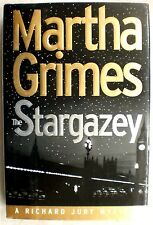 STARGAZEY Martha Grimes stated 1st Edition 1998 Mystery Hardcover & Dust Jacket
