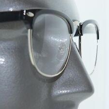 Reading Glasses Classic 60's Slick Office Boutique Style Black Frame +1.75 Lens