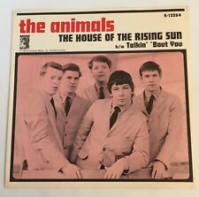 The Animals / House of The Rising Sun / 1964 Picture sleeve only / Mint!