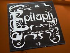 Epitaph Outside The Law Krautrock LP In Mint