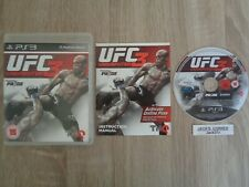 UFC 3 Undisputed  PS3 Game - 1st Class FREE UK POSTAGE
