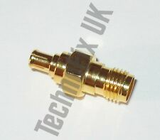 SMA female to MCX male adapter (SMA F to MCX M) - fits RTL-SDR