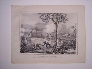 BATTAGLIA DEL VOLTURNO. GARIBALDI A SANTANGELO Guerra d'Italia 1861 Risorgimento