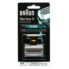 [Braun] 51S Replacement Foil & Cutter - 360 , Series 5 and 8000 Series Activator
