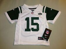 NWT NFL JETS TEBOW JERSEY SZ 24 MONTHS WHITE GREEN AUTHENTIC