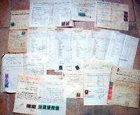 1941 LOTTO 25 DOCUMENTI SU AZIENDA AGRICOLA DI ANZOLA BOLOGNESE