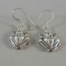 *Wonderful* Sterling Silver Frog Earrings