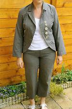 joli tailleur classe bcbg pantacourt 42 veste 40 ONE STEP satisfaite/remboursée