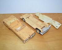 Vintage AMT 1958 FORD EDSEL & BUICK Model Parts Junkyard Lot Screw Bottom 3 In 1