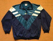 Green - White - Blue Vintage Full Zipper Sweatshirt by Hummel, Size - 7, Mens XL