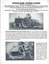Equipment Brochure - Stockland - Hydro Scoop - c1950's (E3588)