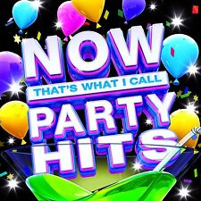 NOW THATS WHAT I CALL PARTY HITS (Various) 3 CD SET (2016)