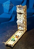 NEW Ugears 172pc Modular Dice Tower Model Set Model Kit for Rolling Dice