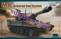 Panda Hobby PH35039 1/35 M8 Armoured Gun System Model Free Shipping 2019 Newest