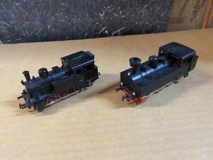 Märklin 3029 Dampflok DB + eine Weitere Lok