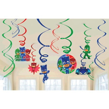 PJ Masks Swirl Decorations - 12 Pack
