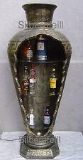 Vitrine Bar Amphore Vase mit Licht Säule Möbel Deko Wohnen Regal  6851 F110