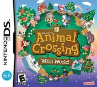 Animal Crossing Wild World Nintendo DS Sealed New DS LITE 3DS 2DS - UK STOCK