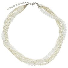 JOHN LEWIS - BNWT - Faux Pearl and Bead Twist Necklace