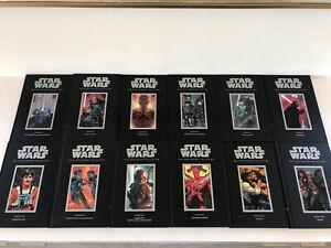 2007 Dark Horse Star Wars 30th Anniversary Hardcover Graphic Novels Full Set 12