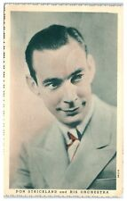 1938 Don Strickland and His Orchestra Postcard