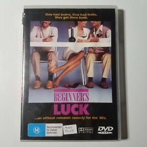 Beginner's Luck | DVD Movie | Sam Rush, Riley Steiner | 1985 | Romance/Comedy