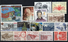 NICE SELECTION OF GREENLAND   USED  (1607163)