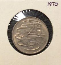 1970 20 cent  unc coin