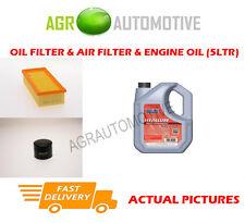 DIESEL OIL AIR FILTER + FS 5W40 OIL FOR LAND ROVER FREELANDER 2.0 98BHP 1998-00