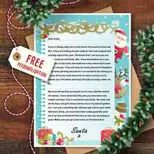 Personalised Christmas Letter From Santa Claus With Matching Envelope Design 5