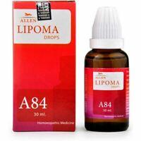 Allen Homoeopathic A84 Lipoma Drops (30ml) + Free Shipping