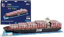 Cubic Fun CF4020H Zim Integrated Shipping Services Container Ship Model 1:750 Sc
