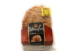 Stonefire Naan Fresh Authentic Flatbreads,Toster Size (3 Pack) 12 Total