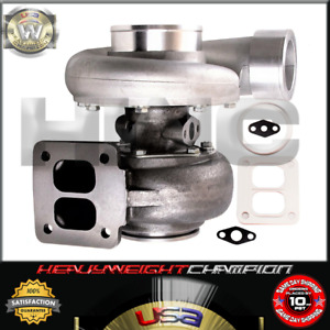 "GT45 T4 V-Band AR 105/66 4"" Huge Turbo Turbocharger 800+HPs Boost GT Breaing"