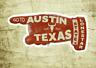 "Austin Texas Vintage Travel Sticker Decal 3 7/8"" Lonestar Laptop Bumper"