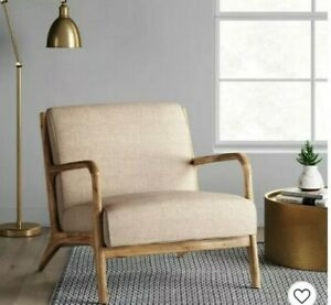 Project 62 51785696 Esters Wood Arm Chair Husk