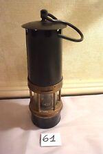 C61 Très ancienne lampe de mineur avec numéro 940 circa 1930-40 old lamp