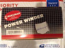 Rokunar Power Winder For Olympus 35mm Film Cameras