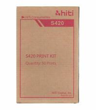 Carta HiTi di alta qualità per stampante a Sublimazione HiTi S420 .