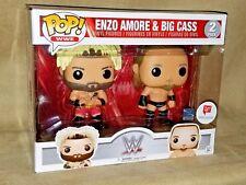 "FUNKO POP! WWE ENZO AMORE & BIG CASS ""HOW YOU DOIN'?"" 2 PACK WALGREENS EXCLUSIVE"