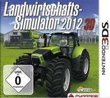 Nintendo 3ds agrícola simulador 2012 3d alemán guterzust.