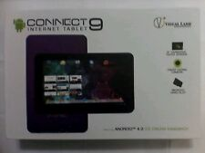 """CONNECT INTERNET TABLE 9""""inch visual land purple"""