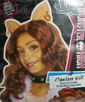 Monster High Clawdeen Wolf Child Glitter Theater Play Dress Up Halloween Wig