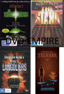 Stephen King 4 DVD Collection The Tommyknockers / Stand / Langoliers Thinner NEW