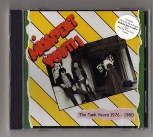 MISSPENT YOUTH The Punk Years 1976-1980 UK KBD Still Sealed/Barbarellas Ticket